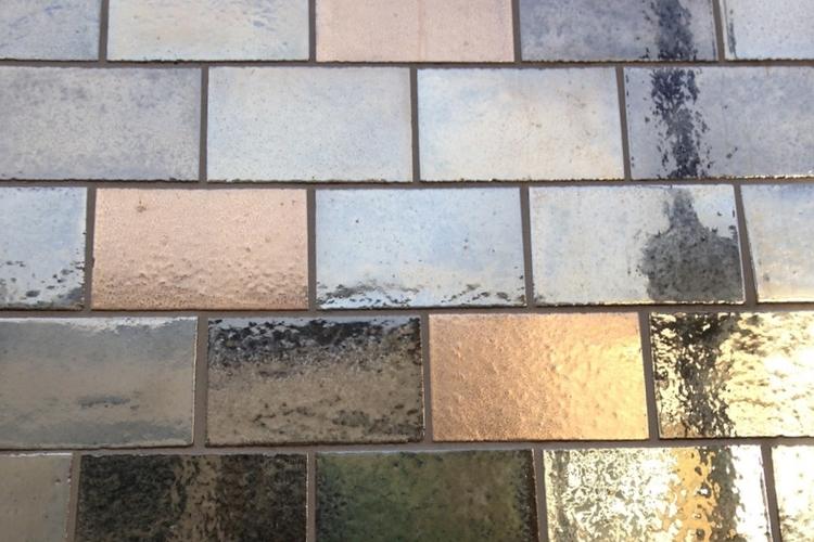 Newspaper House Brick Slip Tiles