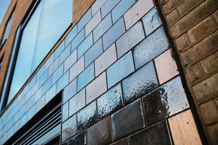 Exterior Glazed Facades Projects Robus Ceramicsrobus